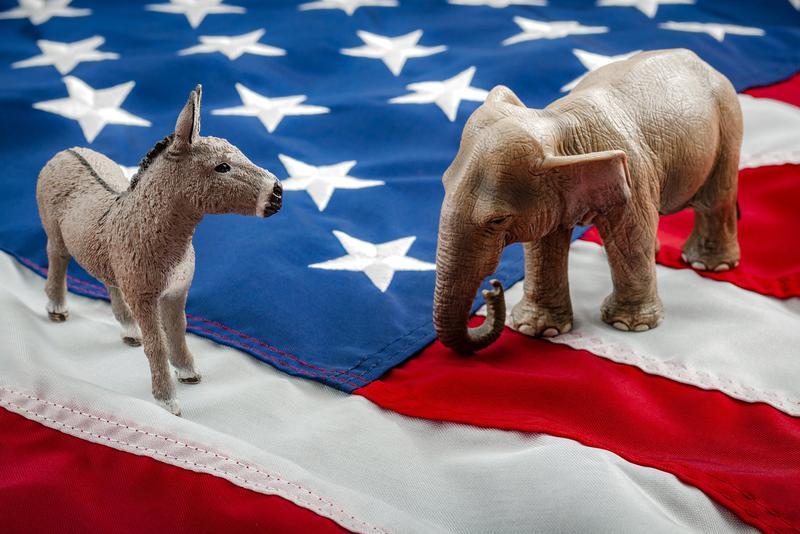 美国民主党和共和党