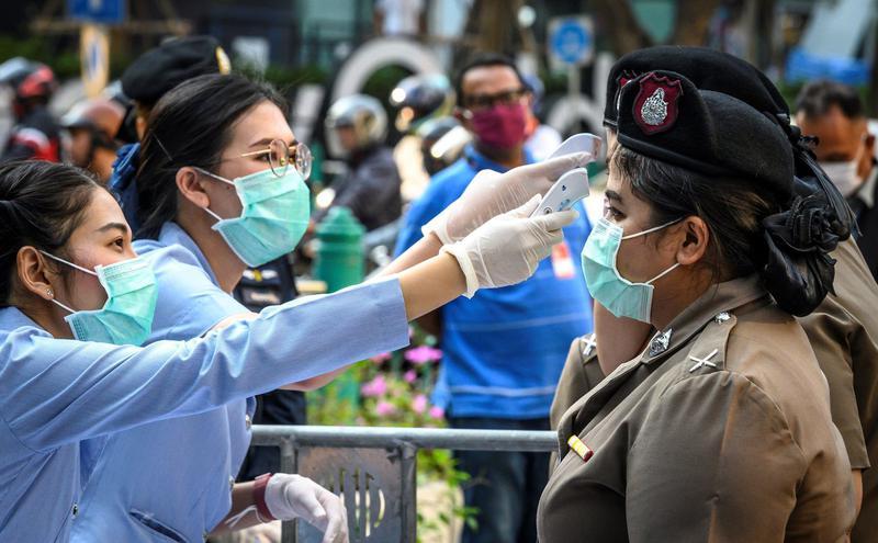 泰国武汉肺炎
