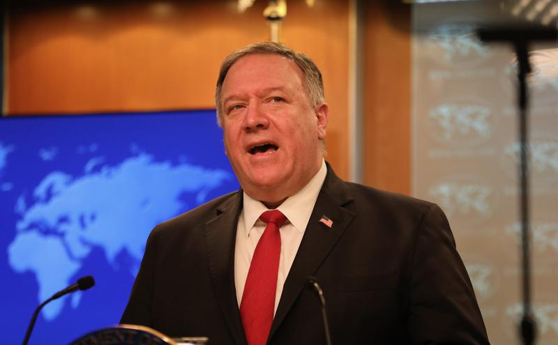 美国务卿:G7一致反对中共散播假消息