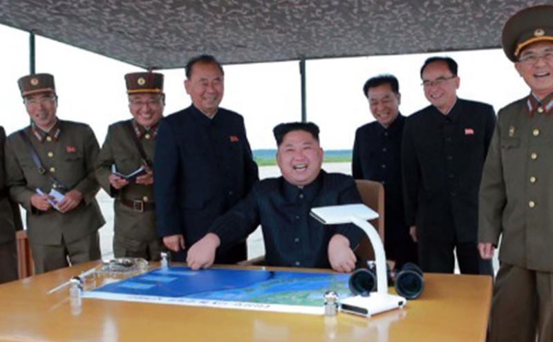 朝鲜最高领导人金正恩。
