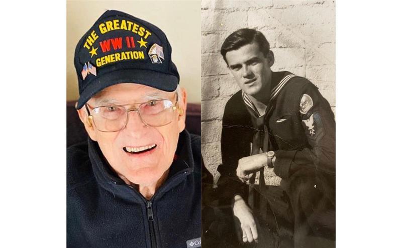 美国95岁老兵凯利。