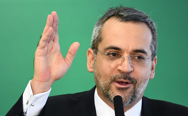 巴西教育部长魏因特劳布(Abraham Weintraub)。