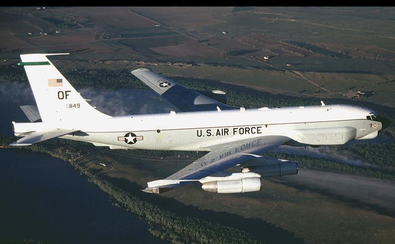 美军RC-135U电子侦察机