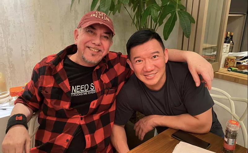 香港艺人杜汶泽和黄秋生