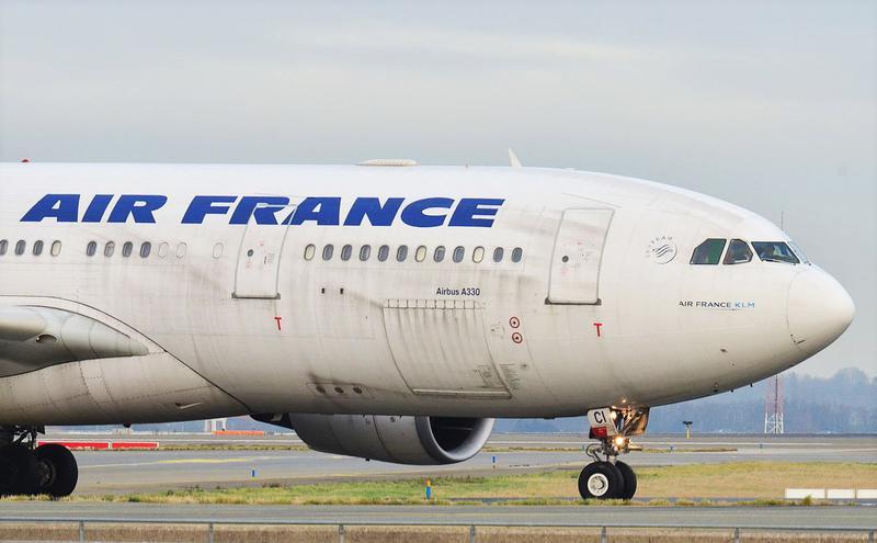 法航(Airbus)A330飞机。