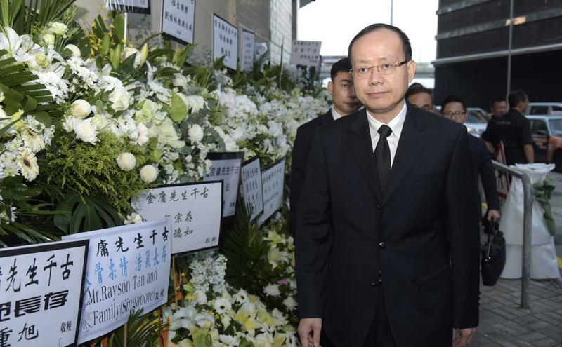 香港中联办副主任杨健突遭免职(图片来源:中央社)