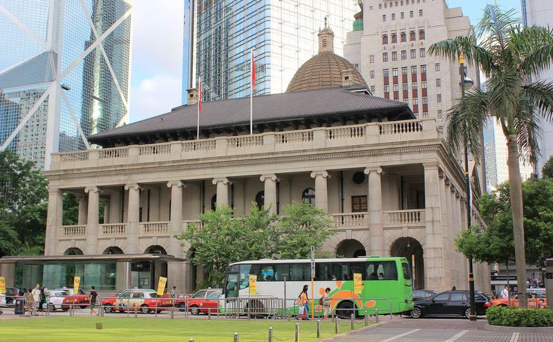 香港特别行政区终审法院(图片来源:Wikimedia Commons,Craddocktm, CC-BY-SA-3.0)