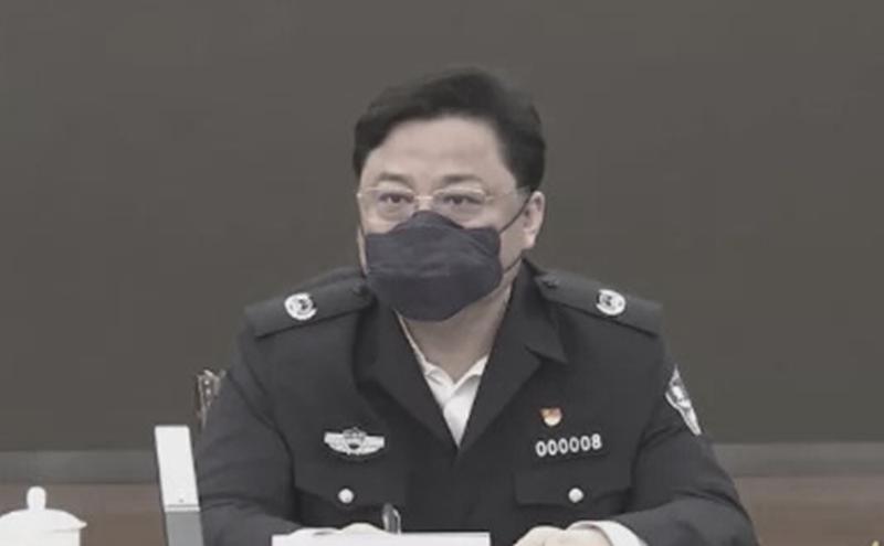 中共公安部副部长孙力军落马。(图片来源:视频截图)