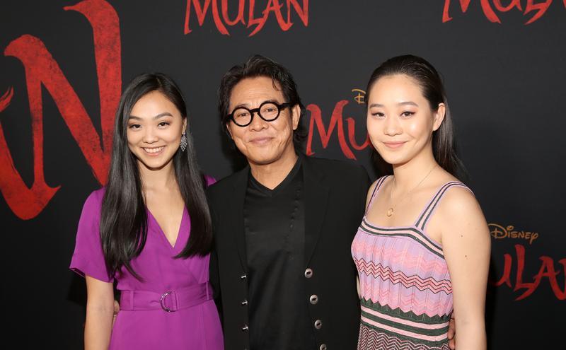 李连杰和一双女儿