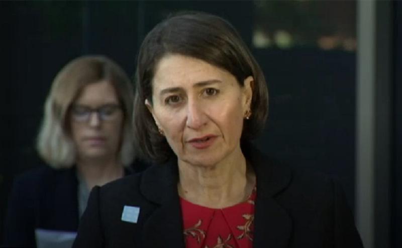 新州州长Gladys Berejiklian。
