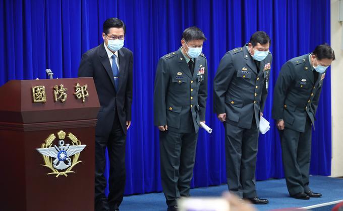 台湾敦睦舰队染疫引争议 国防部致歉(图片来源:中央社)
