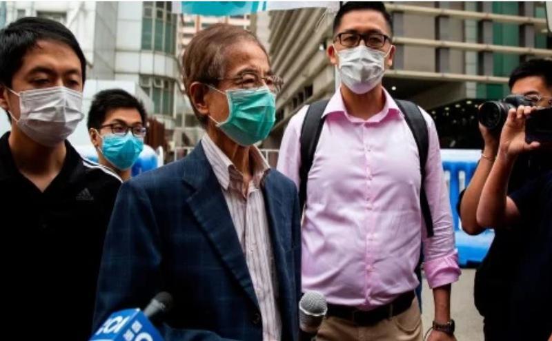 香港资深大律师李柱铭。