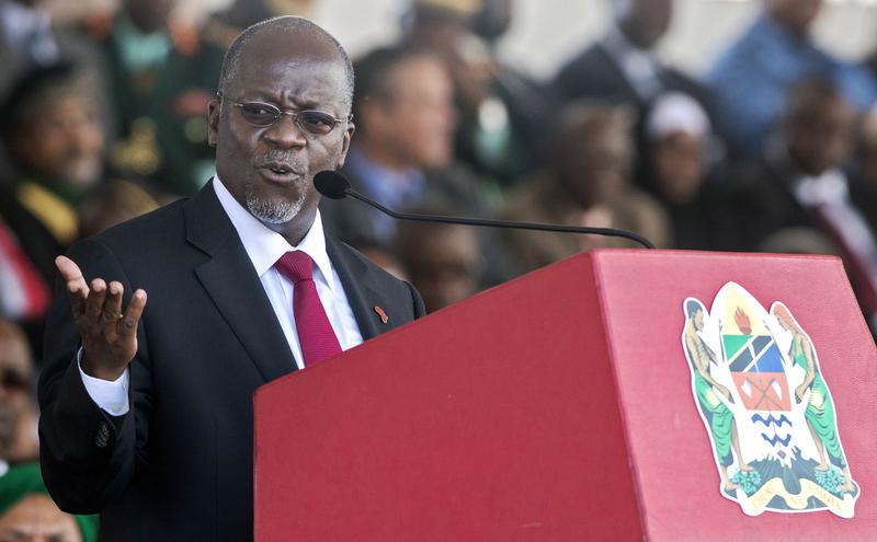 非洲国家坦桑尼亚总统马古富利(John Magufuli)。