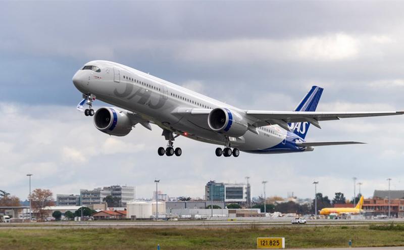北欧航空飞机示意图(图片来源:facebook.com/SAS)