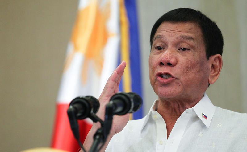 菲律宾总统杜特蒂(图片来源:Wikimedia Commons)