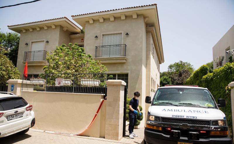 初上任以色列的中国大使 疑心脏病发猝死于官邸