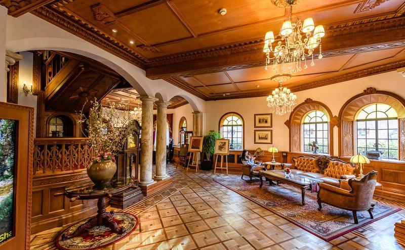 上海历史的经典老洋房