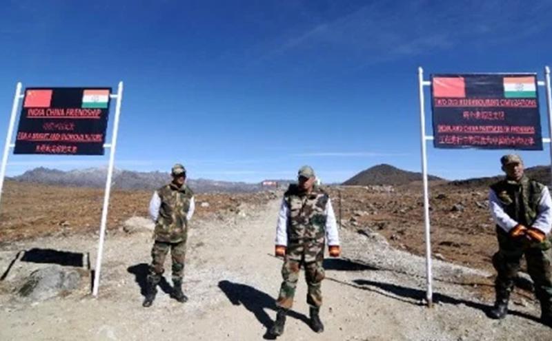 近期在中印边境,中国与印度军队持续发生冲突对峙局面。图为中印边境。(图片  来源:Getty Images)