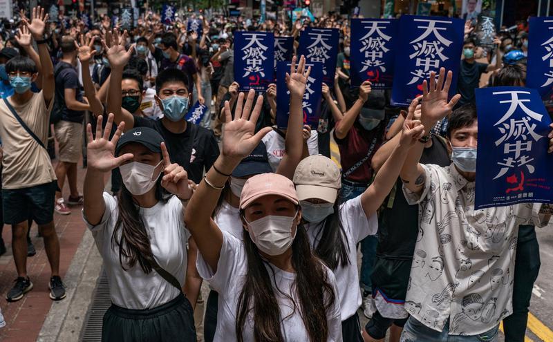 香港抗议国安法