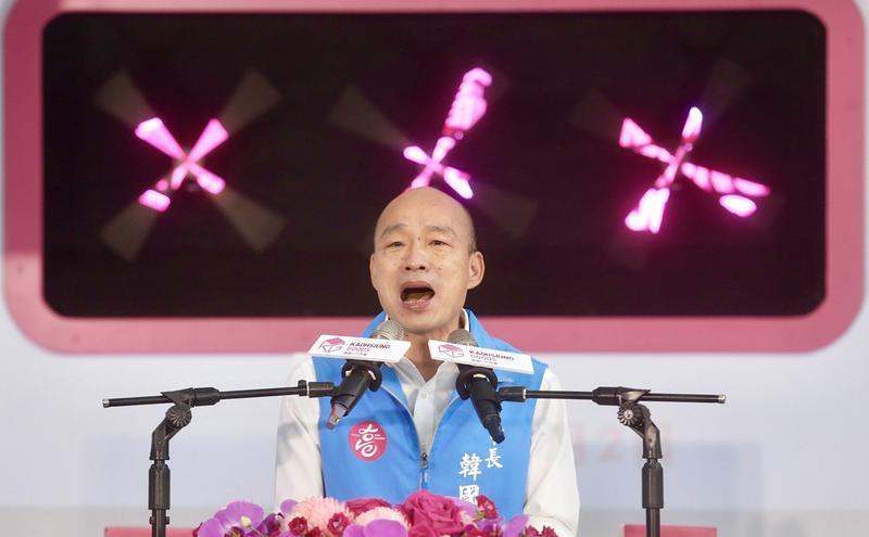 韩国瑜声请停止执行罢免投票提抗告确定驳回(图片来源:中央社)
