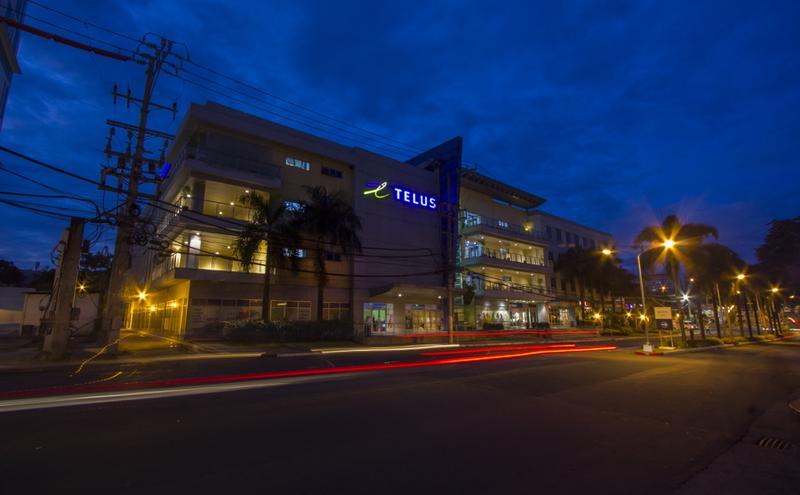 菲律宾马尼拉TELUS House Araneta中心(图片来源:TELUS国际 ,wiki,CC BY-SA 4.0)