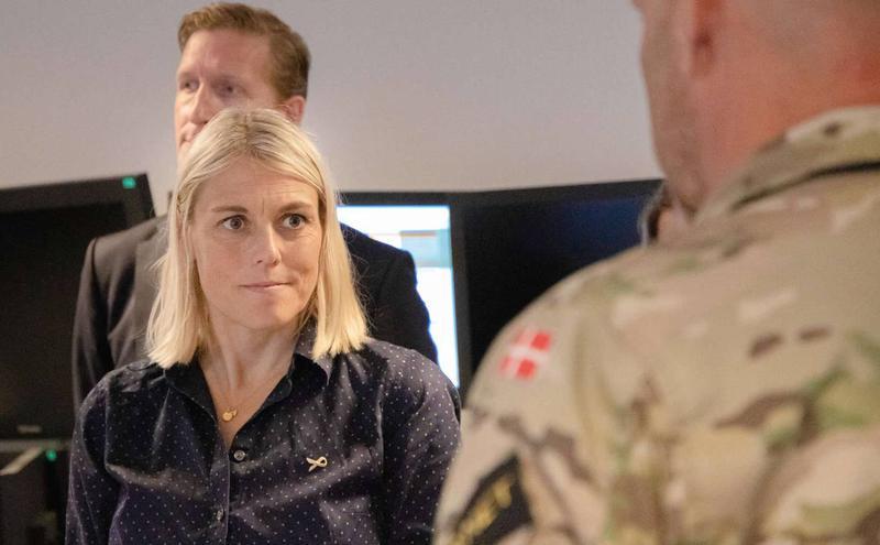 丹麦国防部长布拉姆森(Trine Bramsen)(图片来源:翻摄Trine Bramsen脸书)