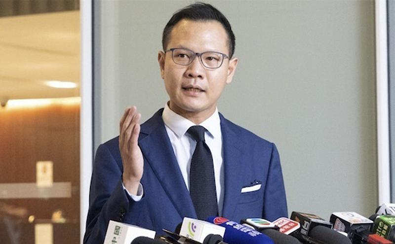 香港公民党郭荣铿(图片来源:看中国)