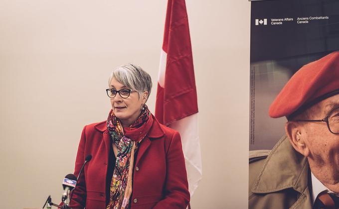 加拿大卫生部长Patty Hajdu