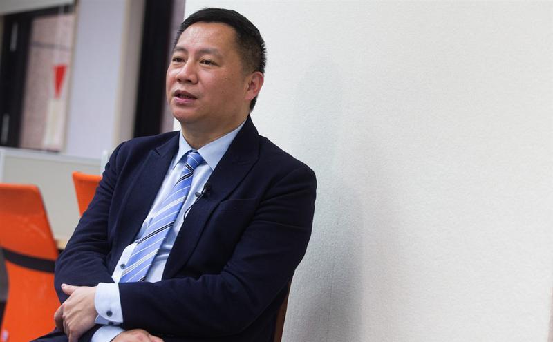 中国八九学运领袖王丹( 图片来源:中央社)