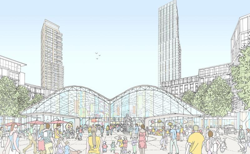 长江实业投资位于英国的地产计画Convoys Wharf(图片来源:Convoys Wharf)