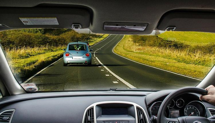汽车,驾驶,公路,仪表盘