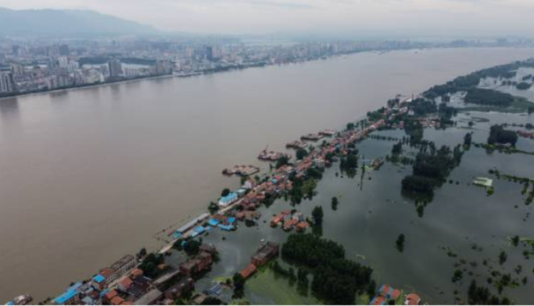 江西九江洪水