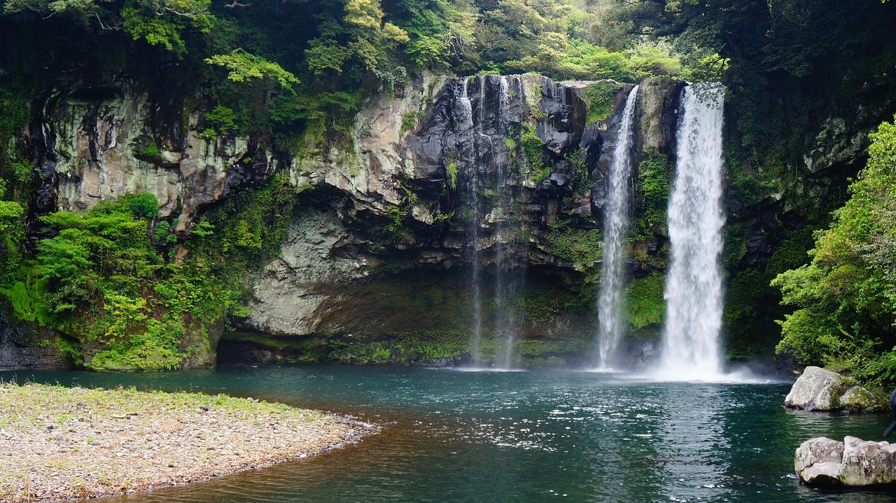 济州岛,天地渊瀑布