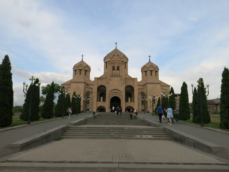 亚美尼亚,埃里温,大教堂,使徒教会教堂