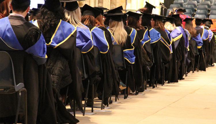 英国,大学生,毕业典礼