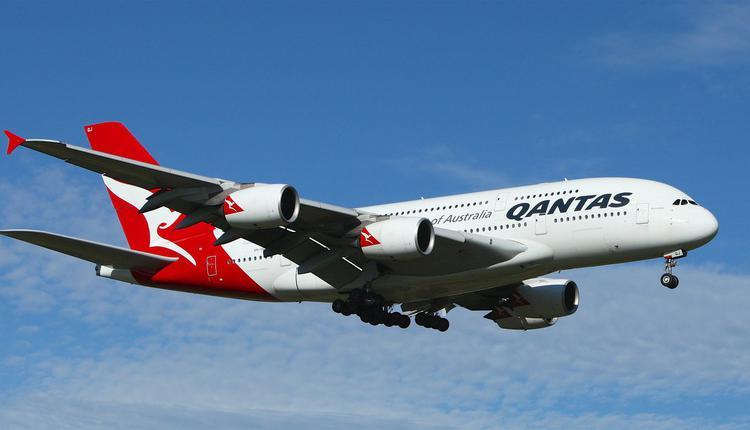 澳航飞机Qantas