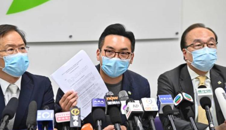 被裁定资格无效的公民党立法会议员杨岳桥