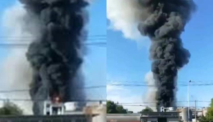 湖北仙桃化工厂爆炸