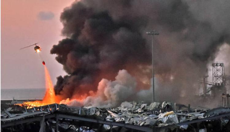 黎巴嫩首都贝鲁特发生大爆炸