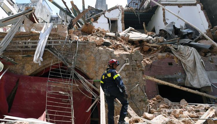 黎巴嫩首都大爆炸