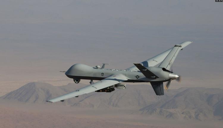 """与""""海上卫士""""类似的无武装的MQ-9""""收割者""""无人机"""