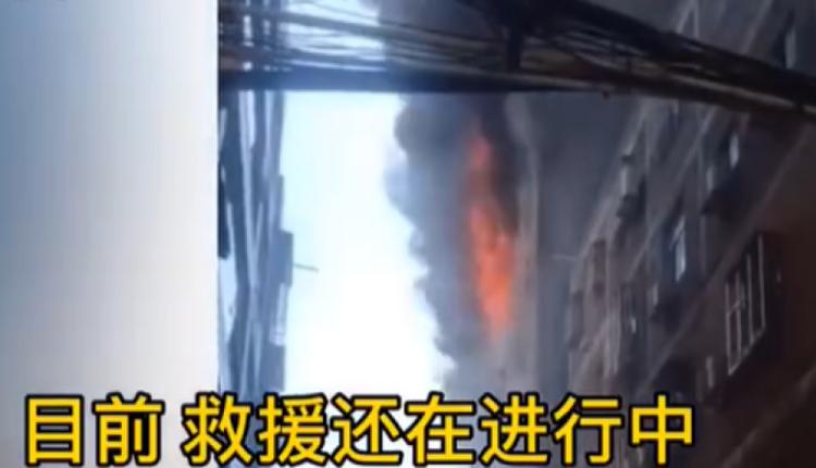 福建晋江陈埭镇一厂房发生火灾8人死亡