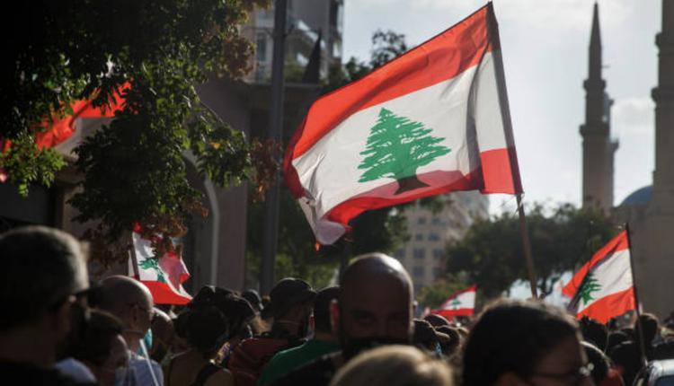 黎巴嫩民众示威抗议