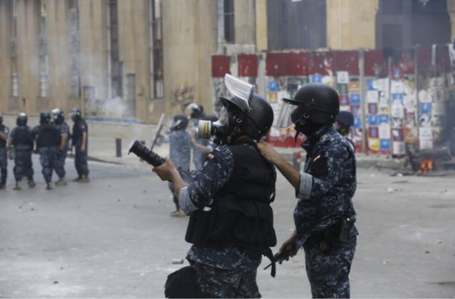 黎巴嫩安全部队图片来源:Marwan Tahtah/Getty Images)