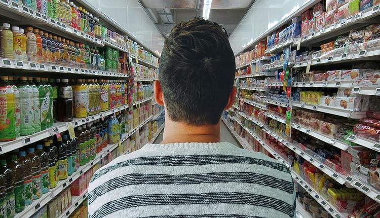 超市 购物