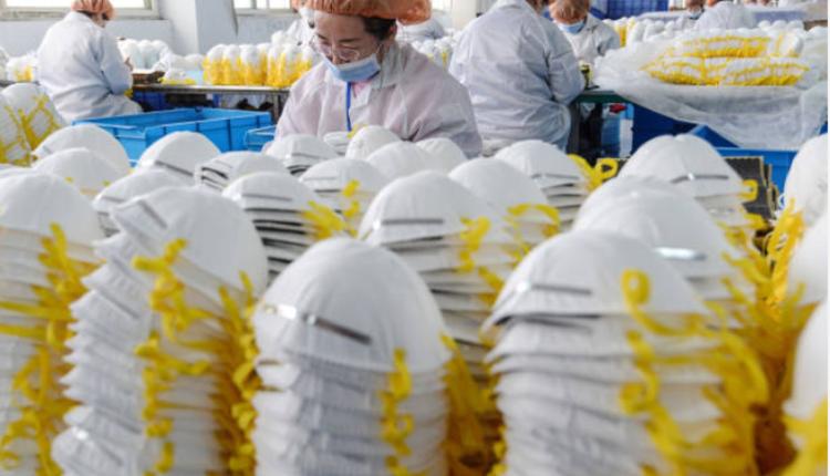 中国制造的口罩