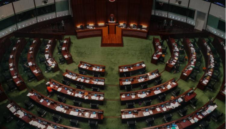 香港立法会举行会议