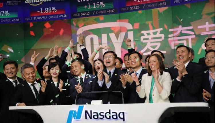爱奇艺2018年在美国首次公开募股。