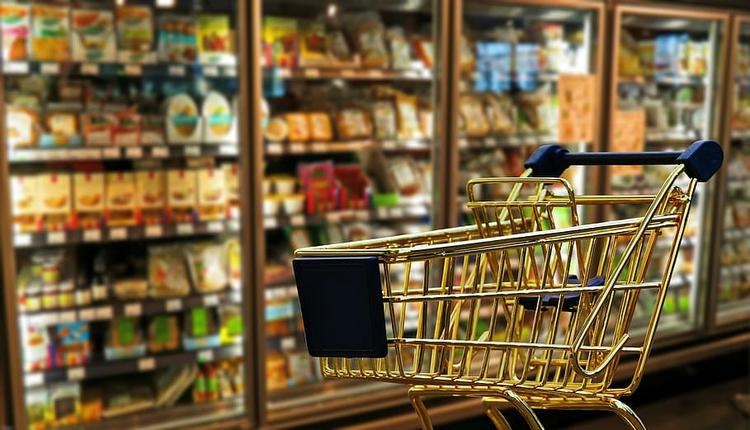 超市 商店 购买 食物