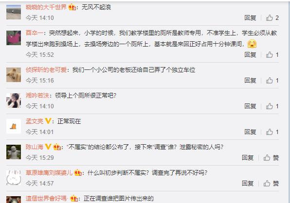 四川资阳安岳县通贤镇党委书记被曝有专用厕所引发热议
